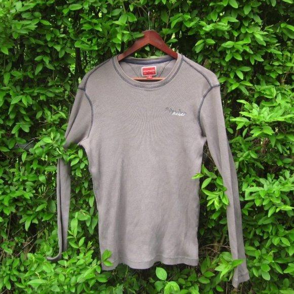 Tommy Hilfiger Ribbed Grey T-Shirt